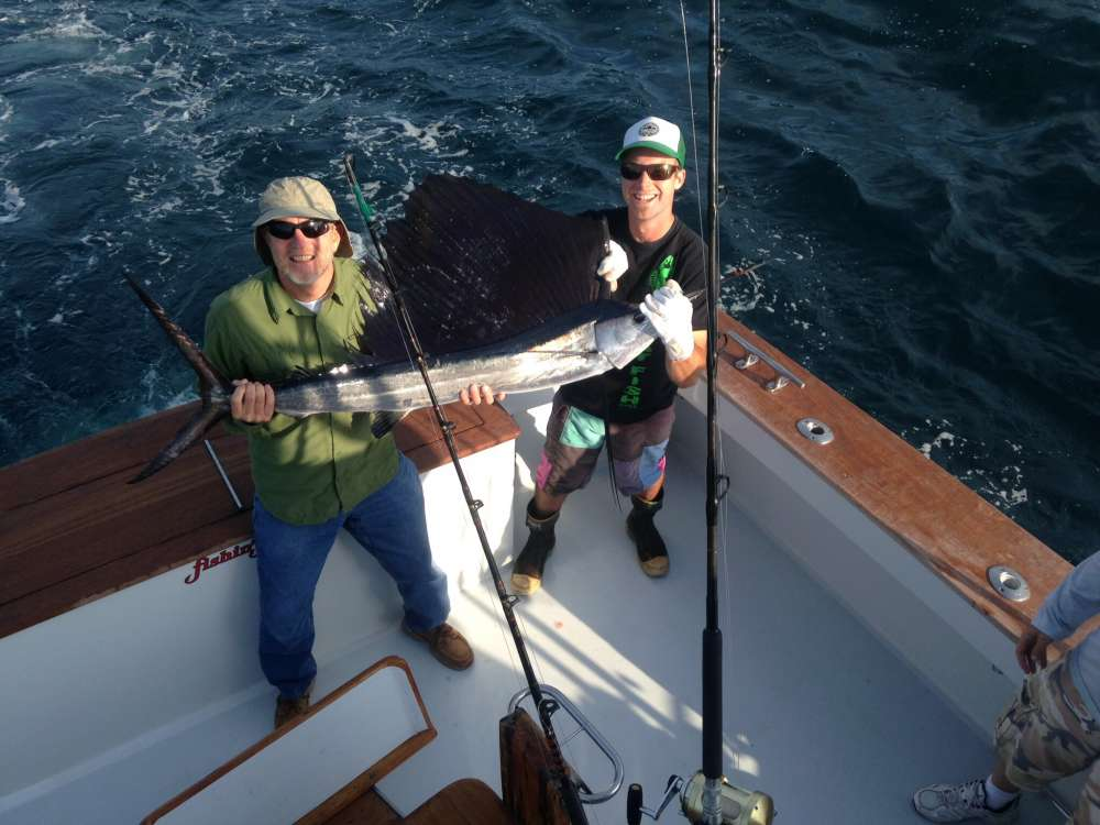 Sailfish today fishin frenzy for Fishing conditions today